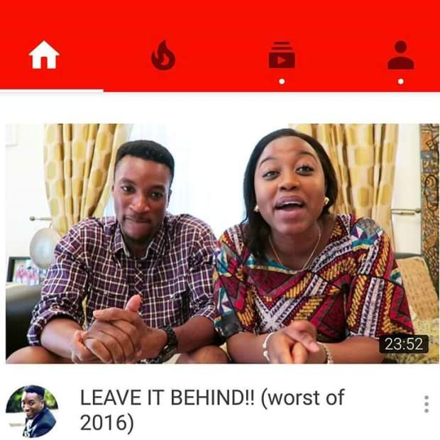 Akah Bants Video on YouTube