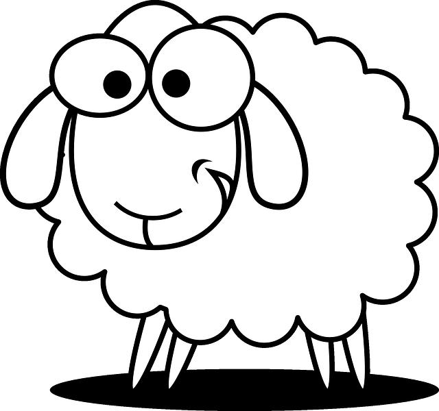 sheepish smile